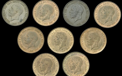 A Specialist Group of Milled Bronze Coins