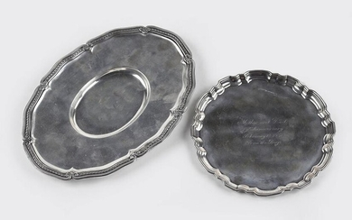 A Tiffany & Company Makers Sterling Silver Dish.