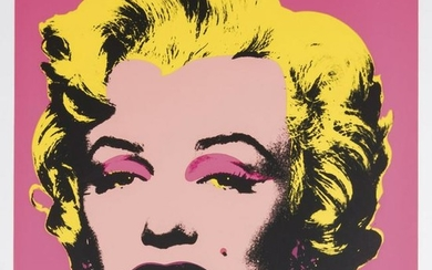Andy Warhol, 10 sheets portfolio after 'Marilyn Series'