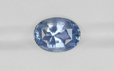 Blue Sapphire, 7.96ct, Mined in Sri Lanka, Certified by