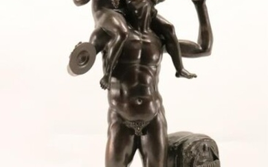 Bronze Figure of Pan the Pied Piper