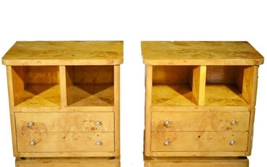 Couple of Art Deco Style Bedside Tables