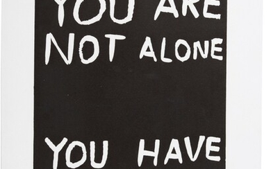 DAVID SHRIGLEY | YOU ARE NOT ALONE; AND LANGUAGE
