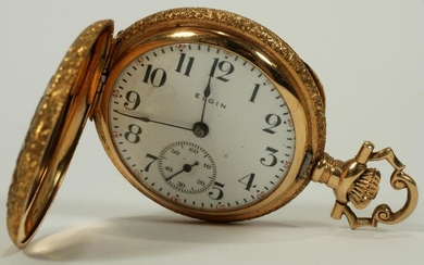 ELGIN 14KT GOLD POCKET WATCH 1903