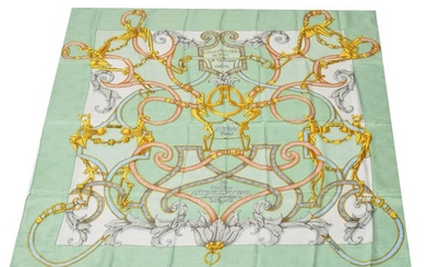 "Hermes ""L'Instruction du Roy"" Silk Scarf"