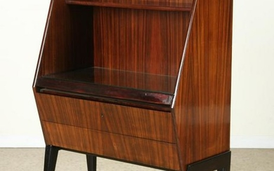 ITALIAN ROSEWOOD DESK PULL OUT SURFACE C.1950