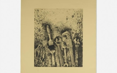 Jim Dine, The New French Tools 3 - For Pep