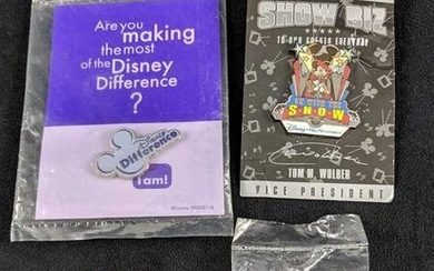 Lot Of Four DIsney Cast Member Pins