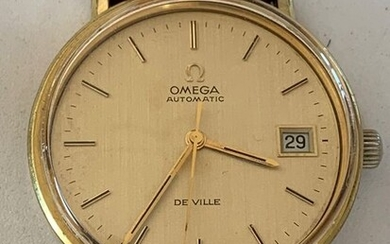 "Omega - De Ville - ""NO RESERVE PRICE"" - 166 0086 - Men - 1980-1989"