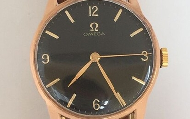 Omega - Solid 18K Rose Gold - 10731623 - Men - 1960-1969