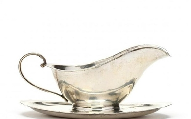 Reed & Barton Sterling Silver Miniature Sauce Boat with