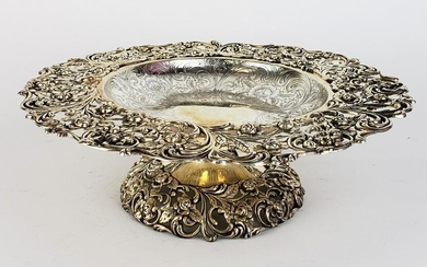 Sterling Silver Tazza
