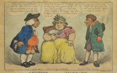 Thomas Rowlandson (1757-1827) after George Moutard Woodward (c.1760-1806)