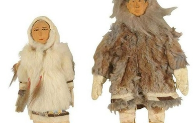 Two Inuit Dolls