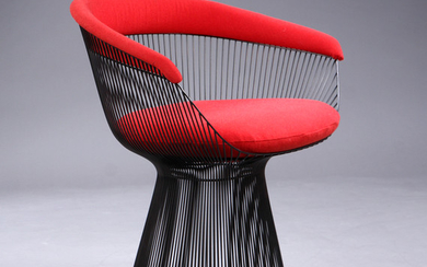 Warren Platner. Armchair, wire chair model 1725
