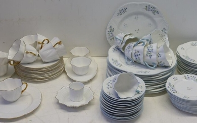 2 Shelley English Bone China Services.