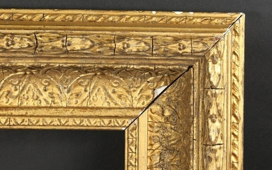"A 19th Century Gilt Composition Frame, 20"" x 16"""