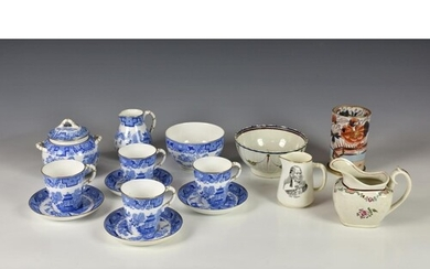 A collection of English and other ceramics, comprising a Roy...