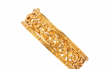 Antique 18kt Gold Bracelet, Froment-Meurice