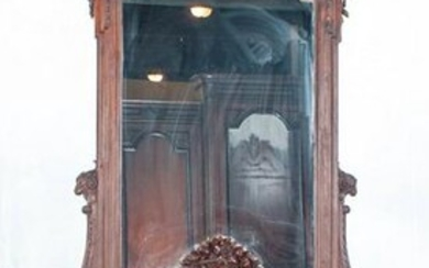 Antique French Louis XVI Console Table W/Mirror