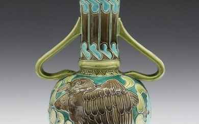 Burmantofts Faience Vase