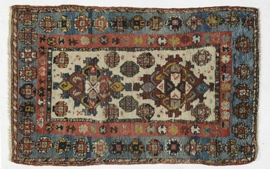CIAL Hand-knotted and hand-worked carpet. Origin: