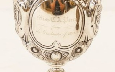 Early Tiffany & Co. Repousse Silver Presentation