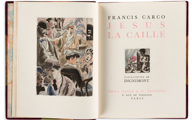 FRANCIS CARCO (1886 1958) Three Limited Edition Titles