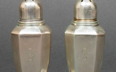 Gorham Sterling Silver Salt & Pepper Shakers, Pr