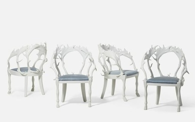 J. Antony Redmile, chairs, set of four