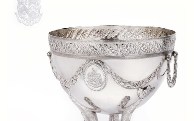A George III Centrepiece Bowl from London,