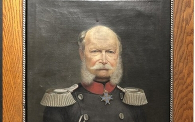 Painting of Wilhelm 1st King Prussia, (1797-1888)