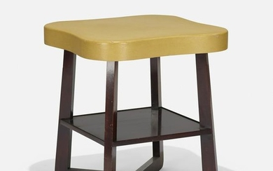 Paul Frankl, attribution, two-tiered occasional table