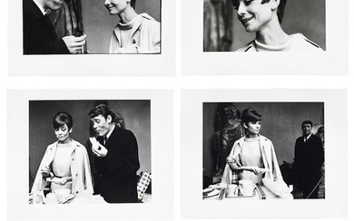 Peter Sellers, attributed (British, B.1925 - D.1980): Photographs of Audrey Hepburn and Peter O'Toole on the set of How to Steal a Million,
