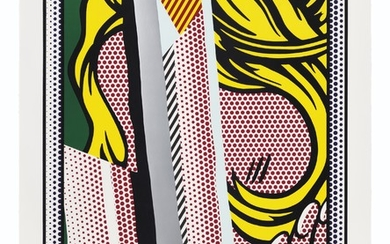 ROY LICHTENSTEIN (1923-1997), Reflections on Hair, from: Reflections Series