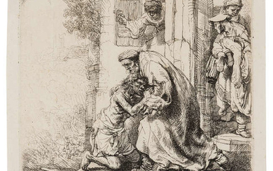 Rembrandt van Rijn (1606-1669) The Return of the Prodigal Son