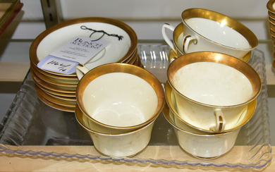 Royal Worcester Durham Cups & Saucers
