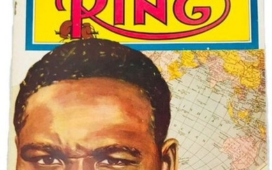 """The Ring Magazine, December 1950 Issue, """"World's"""