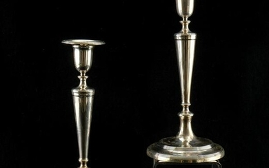 Tiffany & Co Sterling Silver Candlesticks