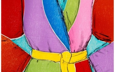 65017: Jim Dine (b. 1935) Yellow Belt, 2005 Woodcut and