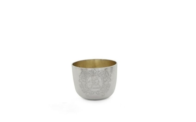 A George II sterling silver tumbler cup