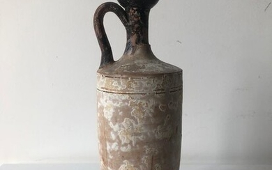 Ancient Greek Ceramic Lekythos - 26×9×26 cm - (1)