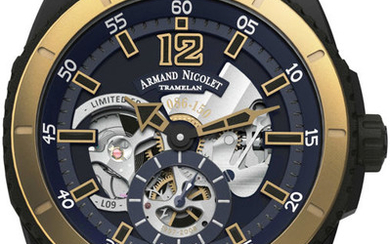 Armand Nicolet - L09 Small Seconds -Limited Edition- - S619N-BU-G9610 - official Retailer - Men - 2011-present
