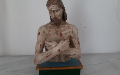 Bust of Christ - Wood - First half 18th century