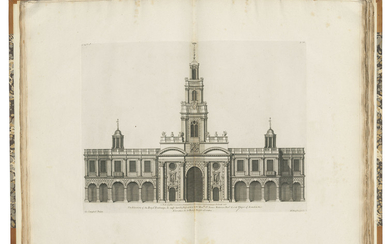 CAMPBELL, Colen (fl. 1715-1729). Vitruvius Britannicus, or the British Architect. Vols 1-3: [London: no date]; Vol. 4: [London:] Woolfe & Gandon, 1767; Vol. 5: [London:] Woolfe & Gandon, 1771.