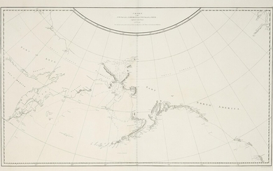 Chart of the NW Coast of America and NE Coast of Asia explored in the years 1778 & 1779. The unshaded parts of the Coast Asia are taken from a MS Chart received from the Russians.
