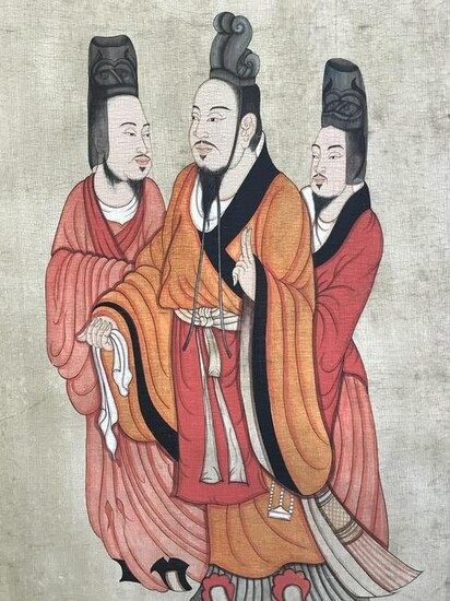 Chinese Panel Painting