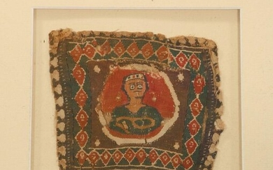 Egypt, Coptic textile, 6th-7th century, with the depiction...