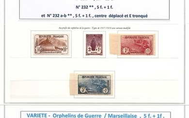 France 1926 - War Orphans with VARIETY - Maury 2020
