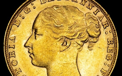 Great Britain - Sovereign- Queen Victoria (1837-1901), London mint, 1884 - Gold